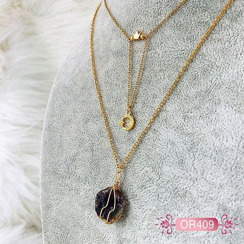 OR409-Collar en Oro Goldfield