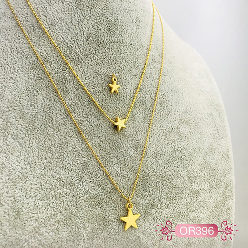 OR396-Collar en Oro Goldfield