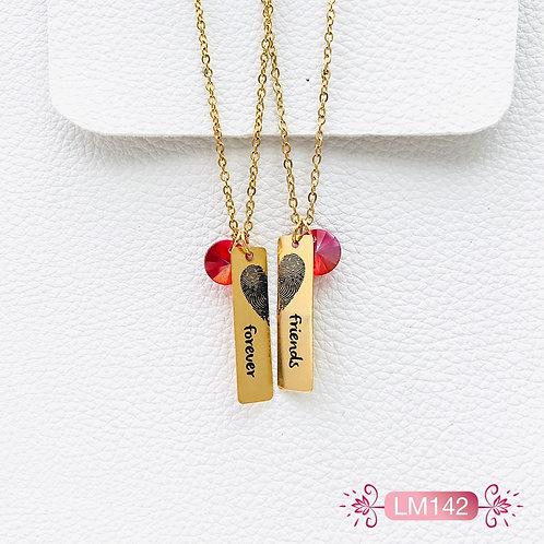 LM142-Collar en Oro Goldfield