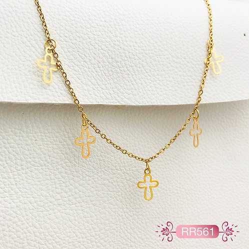 RR561-Collar en Oro Goldfield