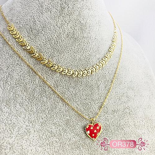 OR378-Collar en Oro Goldfield