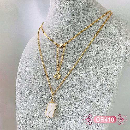 OR410-Collar en Oro Goldfield