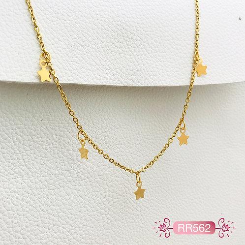 RR562-Collar en Oro Goldfield