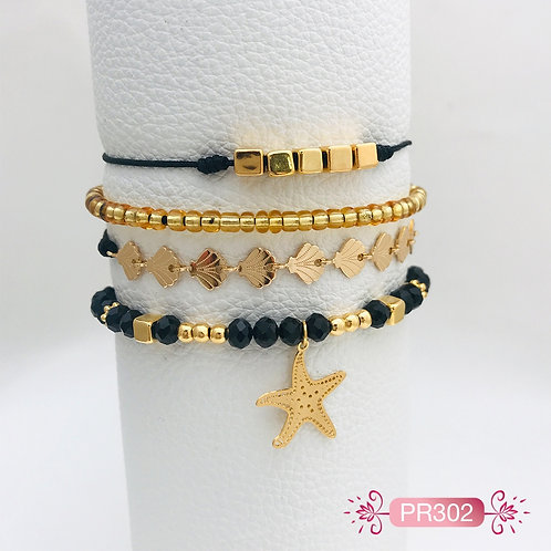 PR302 - Pulsera Estrella de Mar