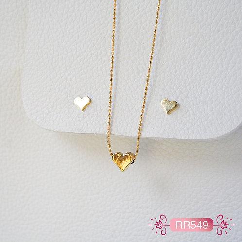 RR549-Collar en Oro Goldfield