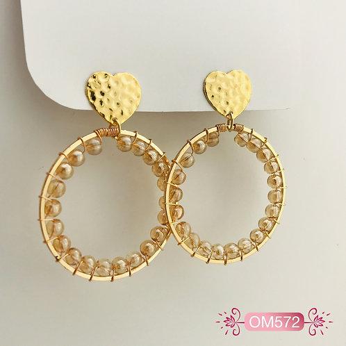 OM572-Aretes en Oro Goldfield