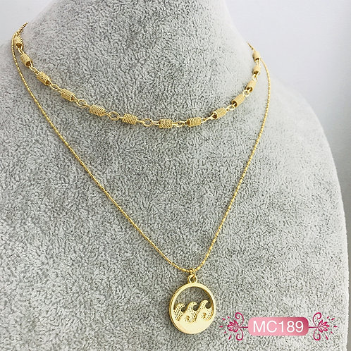 MC189-Collar en Oro Goldfield