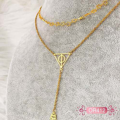 OR412-Collar en Oro Goldfield