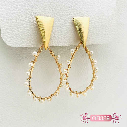 OR329-Aretes en Oro Goldfield