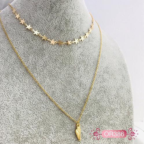 OR386-Collar en Oro Goldfield
