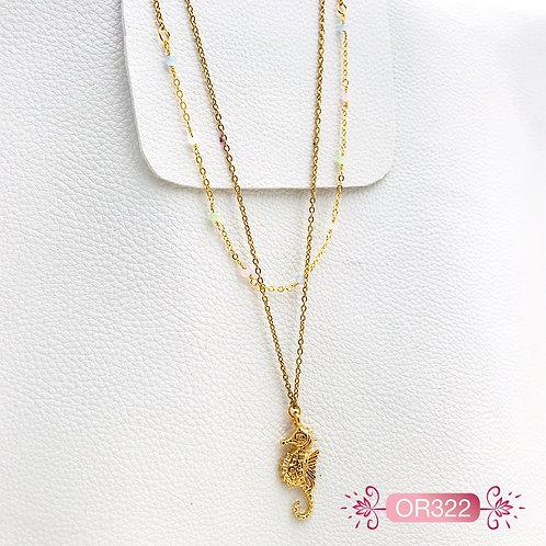 OR322- Collar en Oro Goldfield