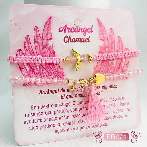 PR274 Pulseras Arcangel Chamuel