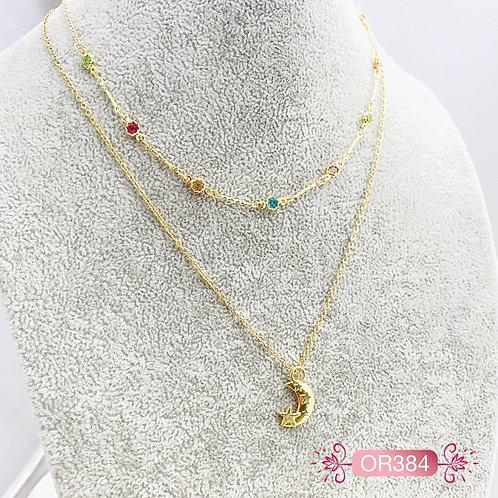 OR384-Collar en Oro Goldfield