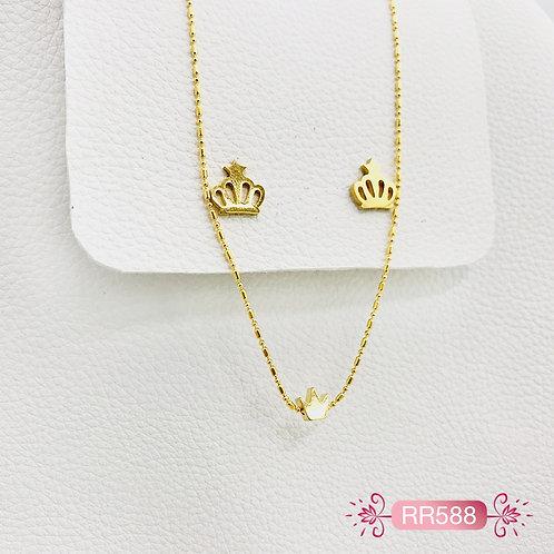 RR588-Collar en Oro Goldfield