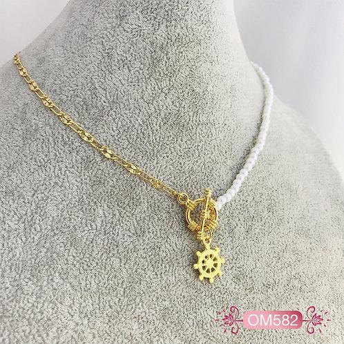 OM582-Collar en Oro Goldfield