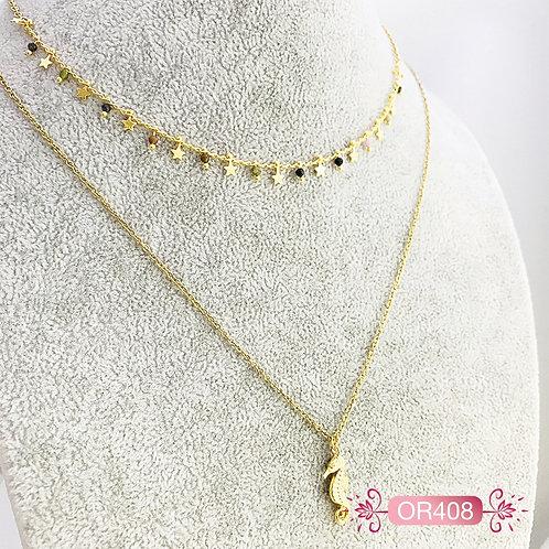 OR408-Collar en Oro Goldfield