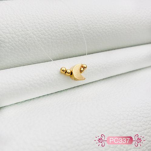 PC337-Collar en Oro Goldfield