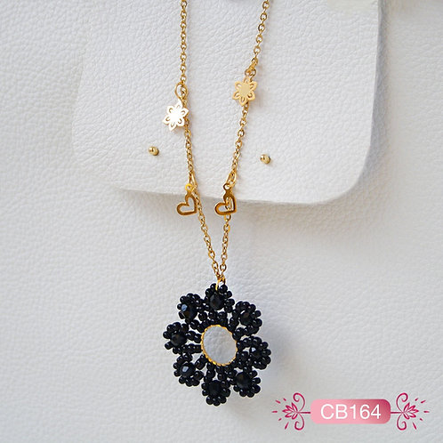 CB164 -Collar en Oro Goldfield