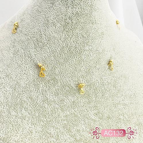 AC132-Collar en Oro Goldfield