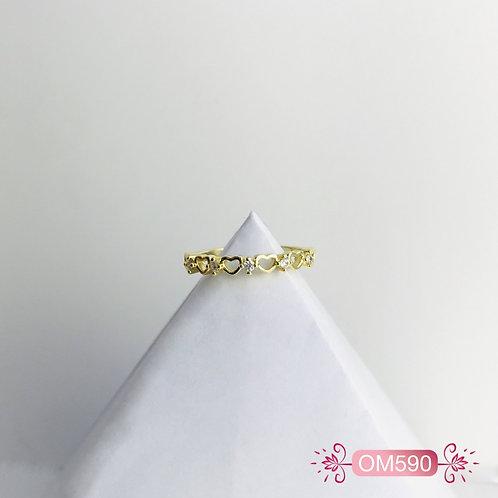 OM590-Anillo en Covergold