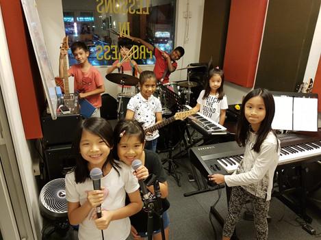 Thunder Rock School Kids Band