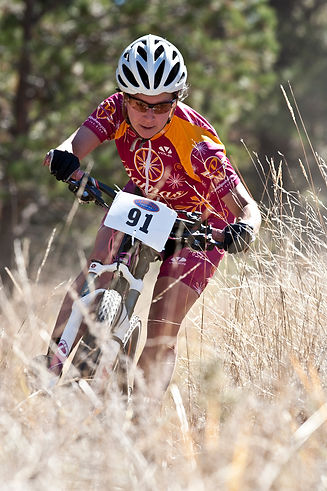 Talitha Vogt MTB racing 2008