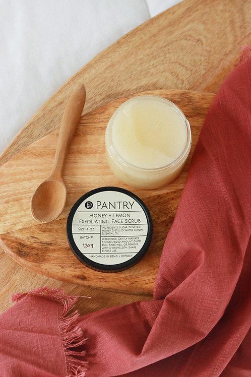 Honey & Lemon | Exfoliating Face  Scrub