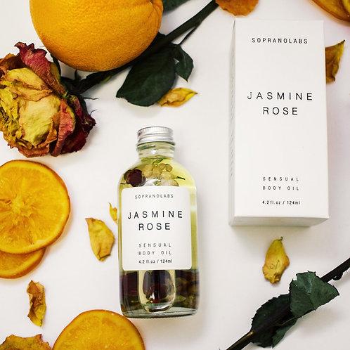Jasmine Rose Sensual Body Oil