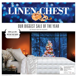Linen Chest Flyer ∙ Brochure