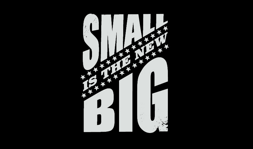 SMALL IS THE NEW BIG logo.
