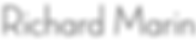 Logo text RICHARD MARIN Artistic director