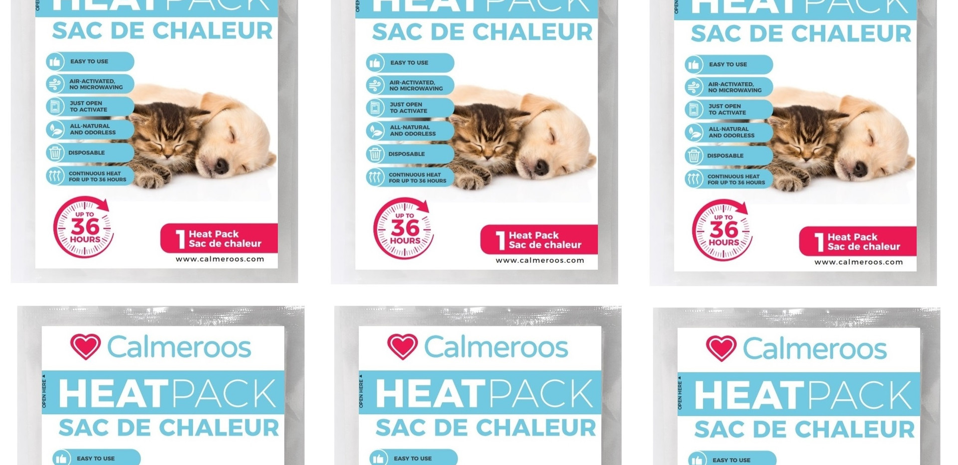 CALMEROOS HEAT PACK REPLACEMENTS