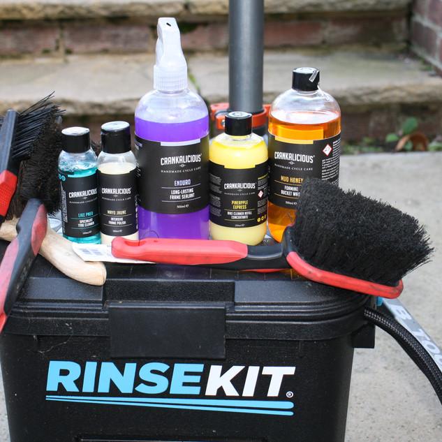 Bike cleaning kit
