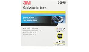 3M Gold Abrasive Discs