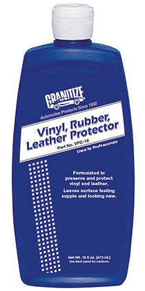 Vinyl,Rubber,Leather Protector
