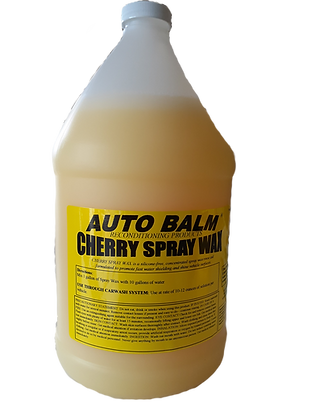 Cherry Spray Wax