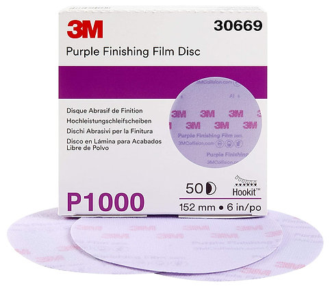 3M Hookit Finishing Disc