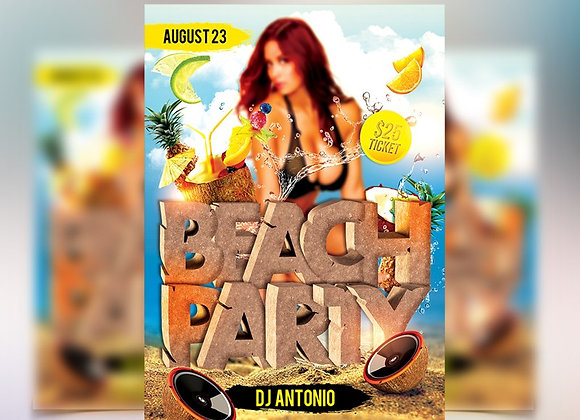 Beach Party 3