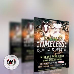 De Starz Timeless Black & White Gala