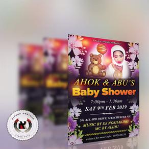 Ahok @ Abu's Baby Shower