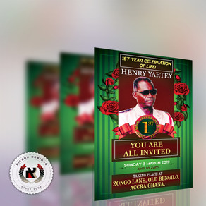 Henry Yartey - Celebration of Life