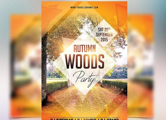 Autumn Woods Party