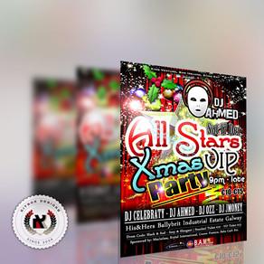 All Stars Xmas VIP Party