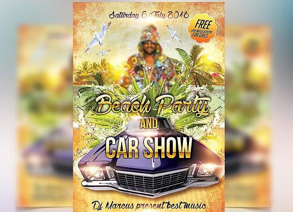 Beach & Car