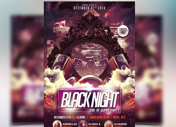 Black Night Party 1