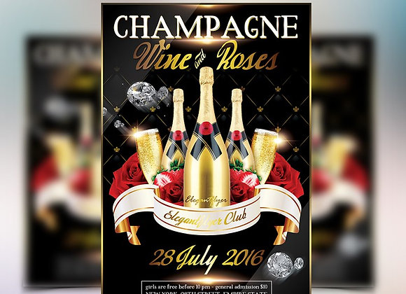 Champagne Wine & Roses 1