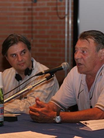 Robert Germay with Vito Minoia at the Urbino World Congress in 2006
