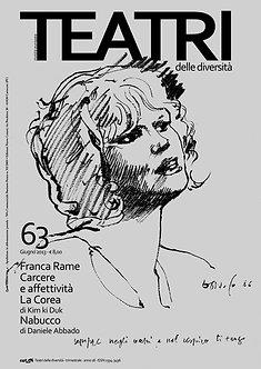 Teatri delle diversità / n. 63