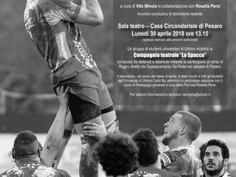 Teatro e Rugby in Carcere: incontro conclusivo