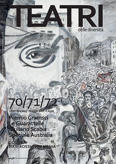 Teatri delle diversità / n. 70/71/72 + Magazine Cercare